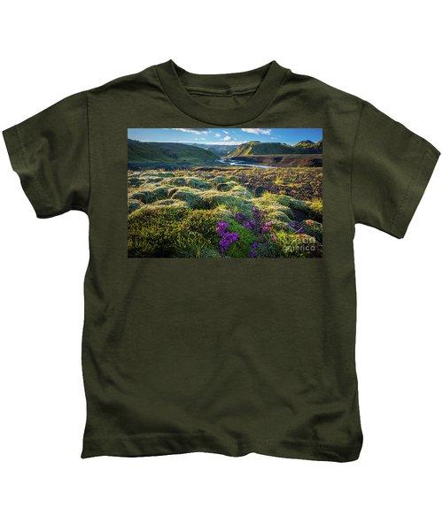 Iceland Moss Kids T-Shirt