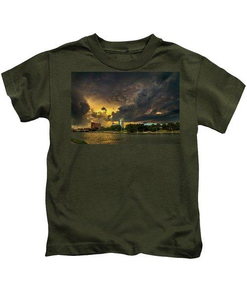 ict Storm - High Res Kids T-Shirt