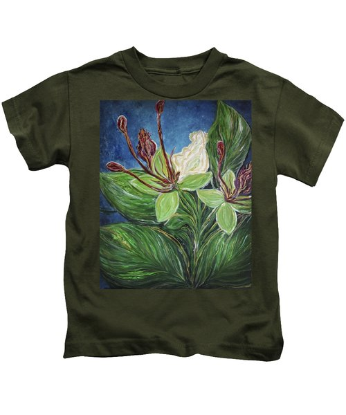Ifit Flower Guam Kids T-Shirt
