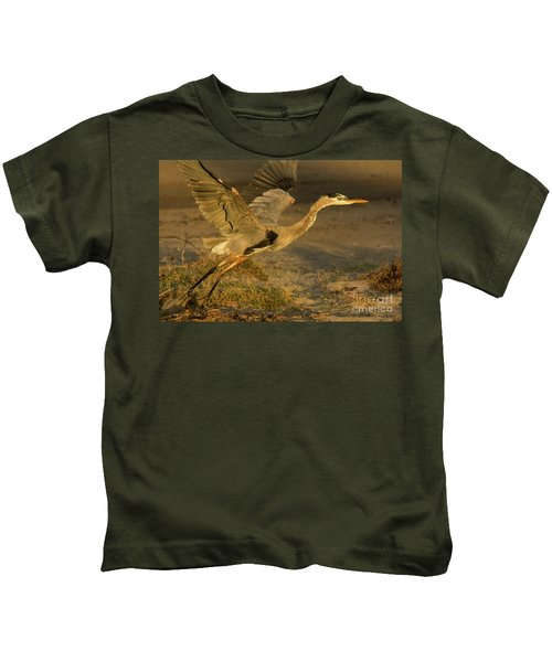 I'm Out Of Here Wildlife Art By Kaylyn Franks Kids T-Shirt