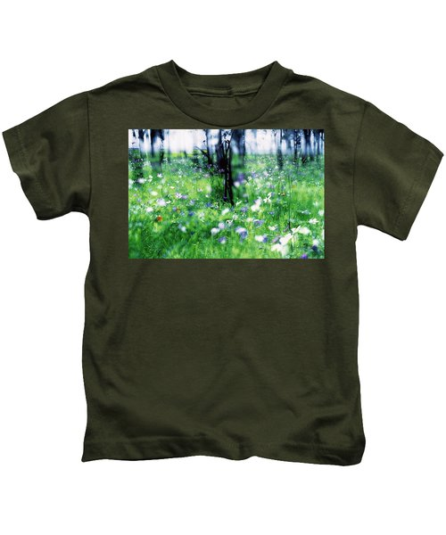 Impressionistic Photography At Meggido 1 Kids T-Shirt