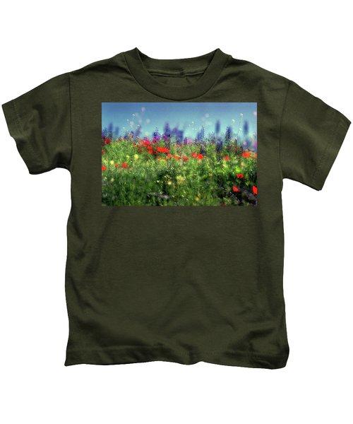 Impressionistic Springtime Kids T-Shirt