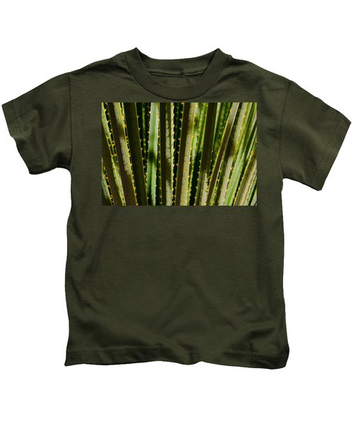 In The Cactaceae Weeds Kids T-Shirt