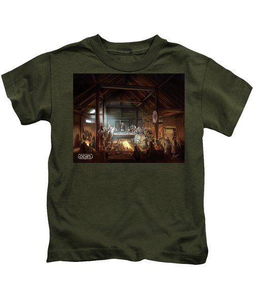 In The Name Of Odin Cover Art Kids T-Shirt