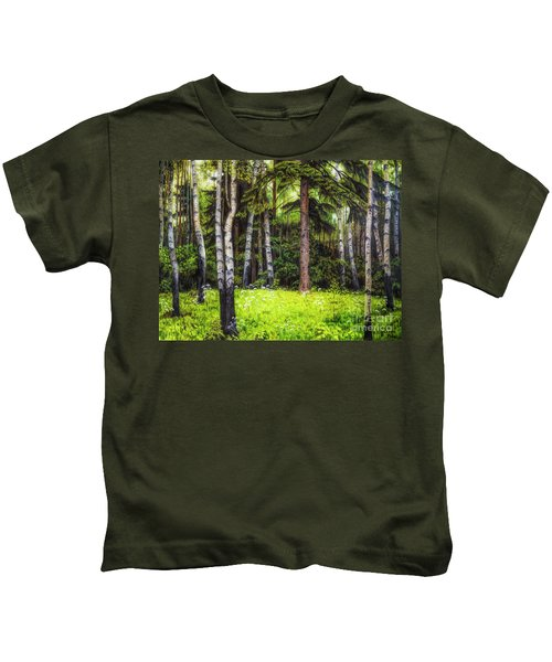 In The Woods Kids T-Shirt