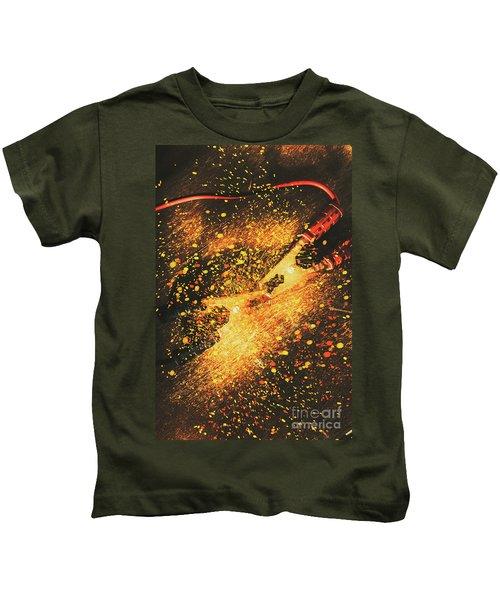 Industrial Jump Start Kids T-Shirt