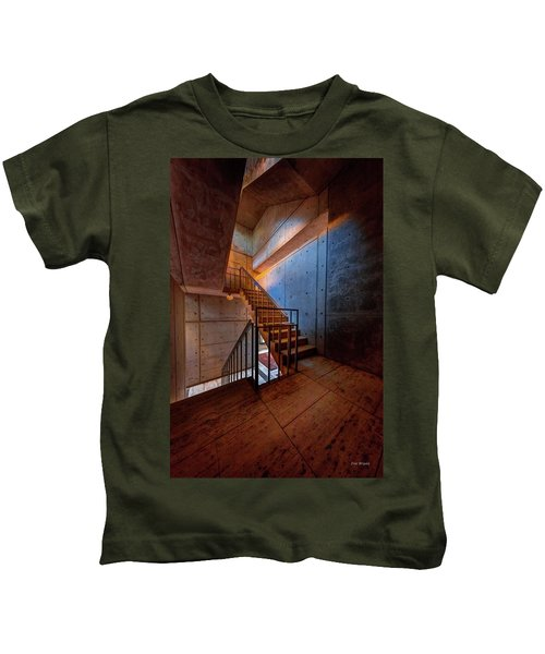 Inside The Stairwell Kids T-Shirt