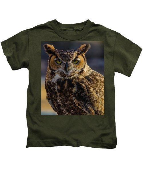 Intense Owl Kids T-Shirt