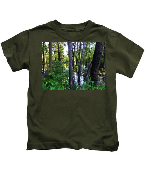 Interior Lake Chale Island Kids T-Shirt