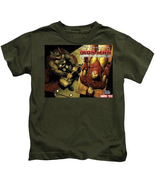 Invincible Iron Man Kids T-Shirt