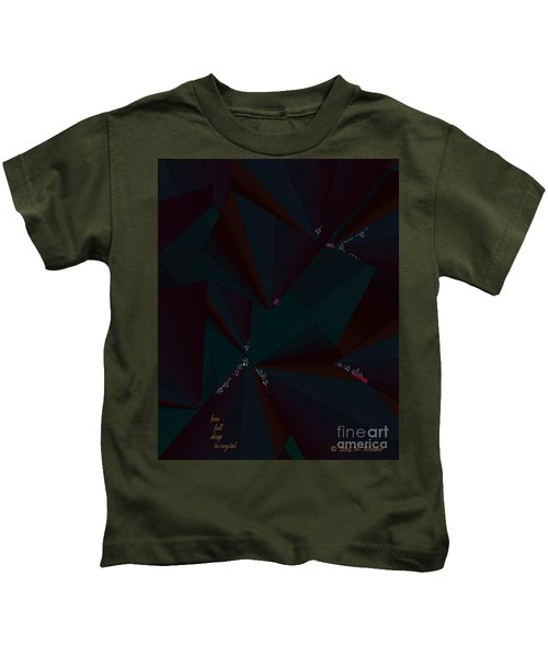 Inw_20a6148 Free Fall Drop To Crystal Kids T-Shirt