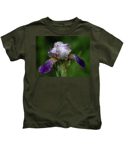 Iris After The Rain 1409 H_2 Kids T-Shirt