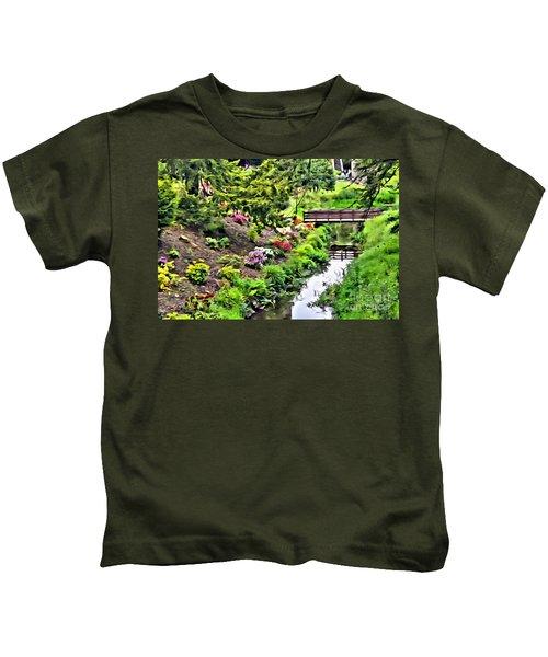 Irish Summer Stream Kids T-Shirt