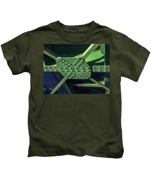 Iron Rail Bridge Kids T-Shirt