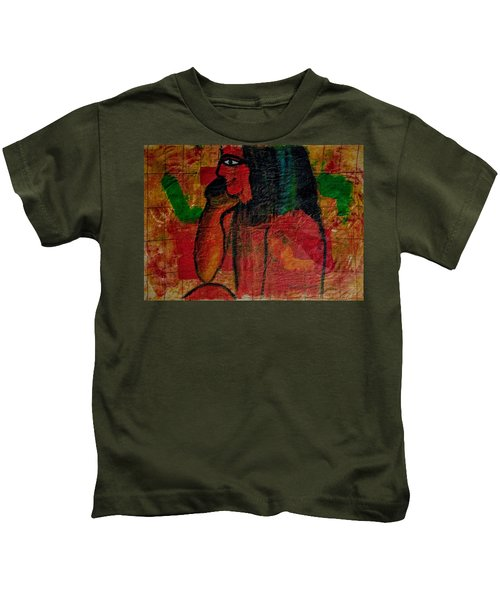 Isis, Egyption Queen Of Earth Kids T-Shirt