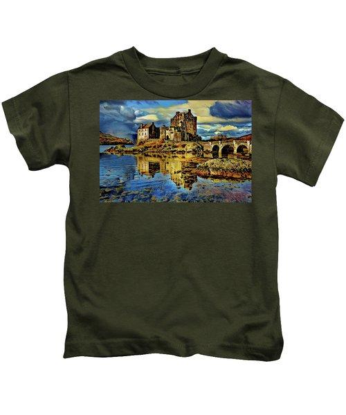 Island Of Donnan - Scotland Kids T-Shirt