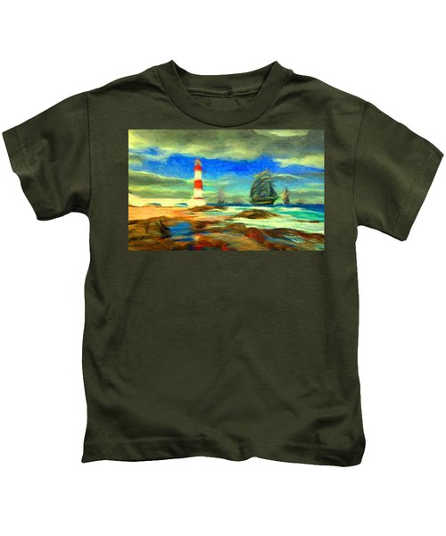 Itapua Lighthouse 1 Kids T-Shirt