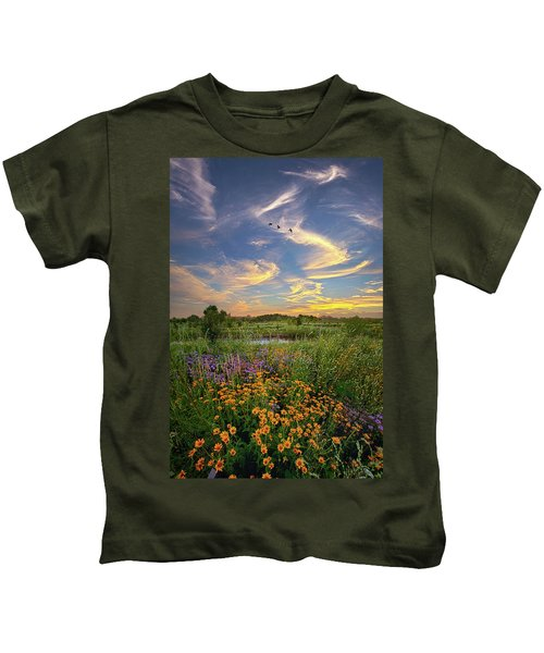 It's Time To Relax Kids T-Shirt