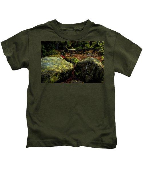 Japanese Garden Lantern Kids T-Shirt