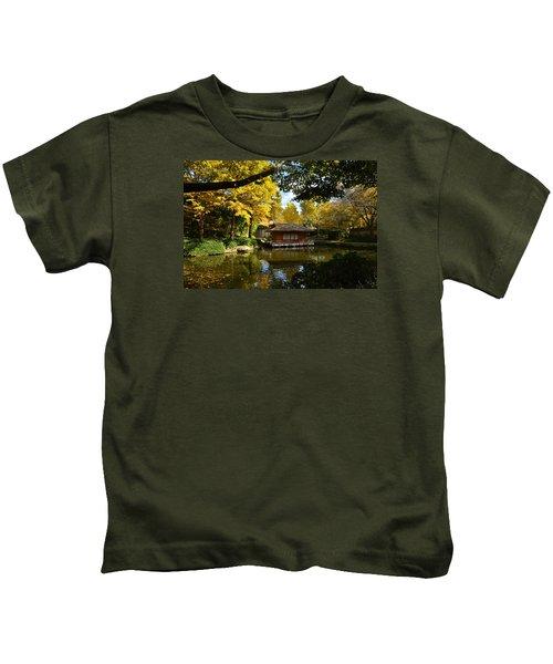 Japanese Gardens 2541a Kids T-Shirt