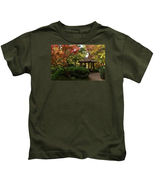 Japanese Gardens 2577 Kids T-Shirt