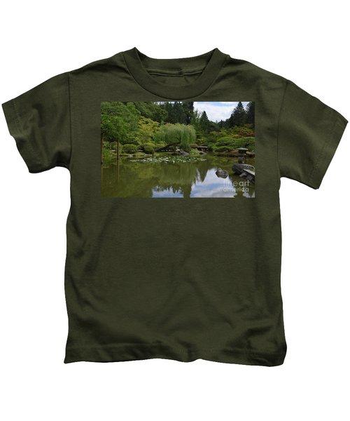 Japanese Gardens 3 Kids T-Shirt
