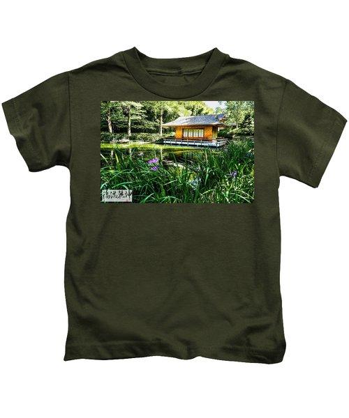 Japanese Gardens II Kids T-Shirt