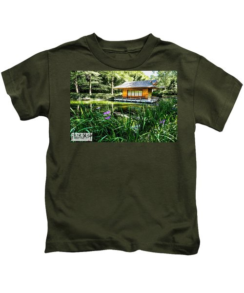 Japanese Gardens II Kids T-Shirt