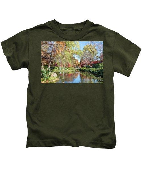 Japanese Gardens Kids T-Shirt
