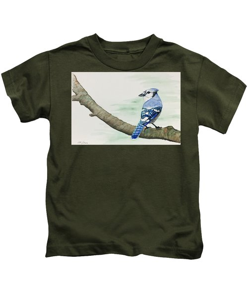 Jay In The Pine Kids T-Shirt