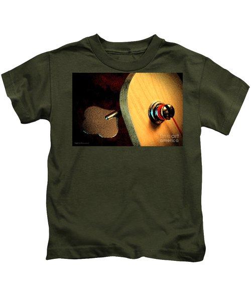 Jazz Bass Tuner Kids T-Shirt