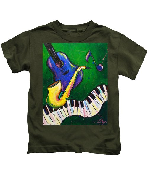 Jazz Time Kids T-Shirt