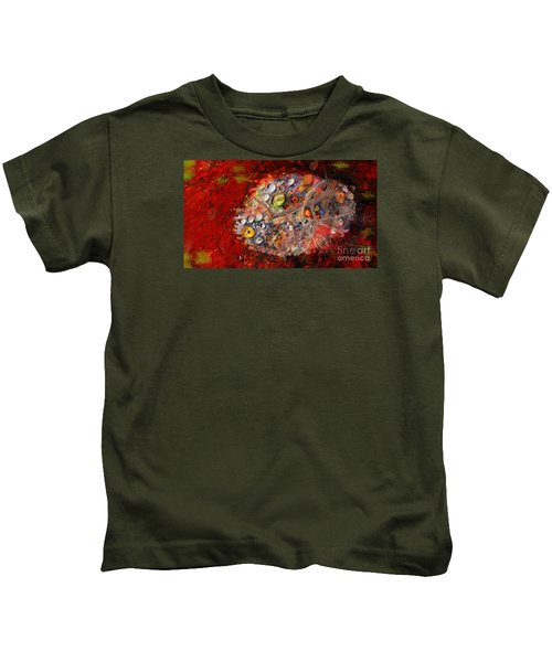Jewels And The Japanese Maple Kids T-Shirt