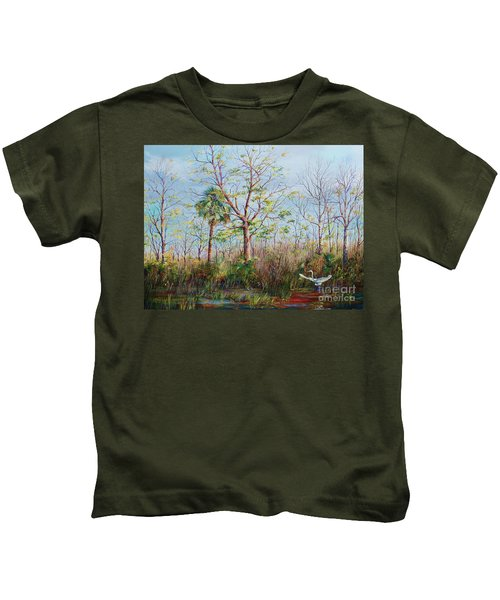 Jim Creek Lift Off Kids T-Shirt
