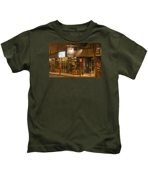 Johnny Ds Music Club In Davis Square Somerville Ma Kids T-Shirt
