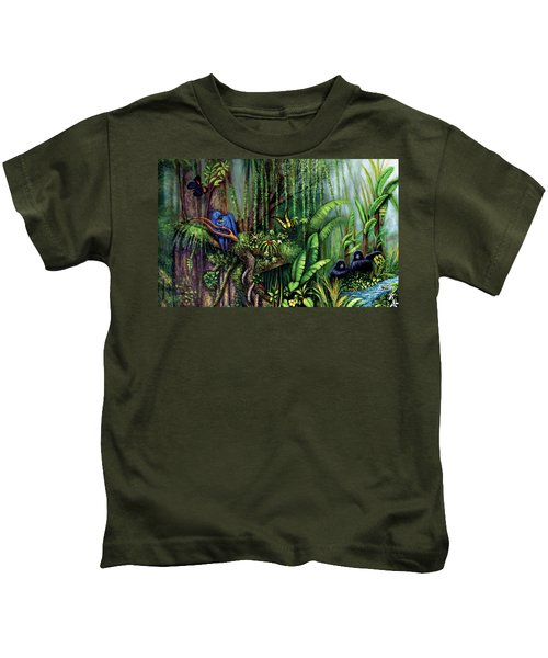 Jungle Talk Kids T-Shirt