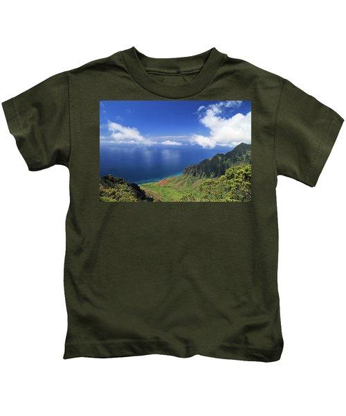 Kalalau Valley Kids T-Shirt