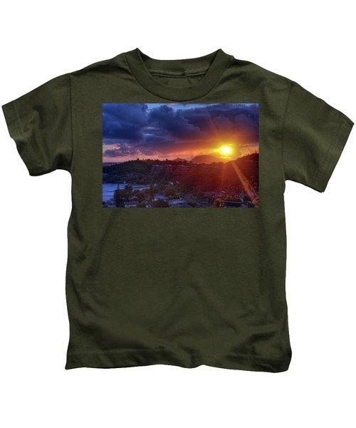 Kaneohe Sunrise Kids T-Shirt