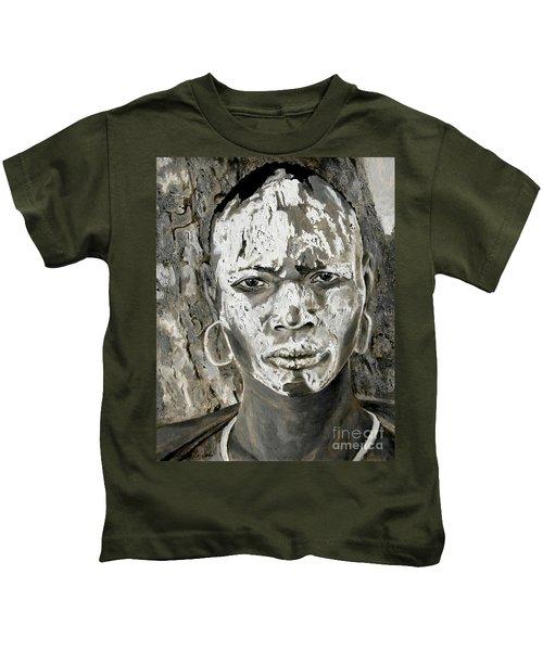 Karo Man Kids T-Shirt