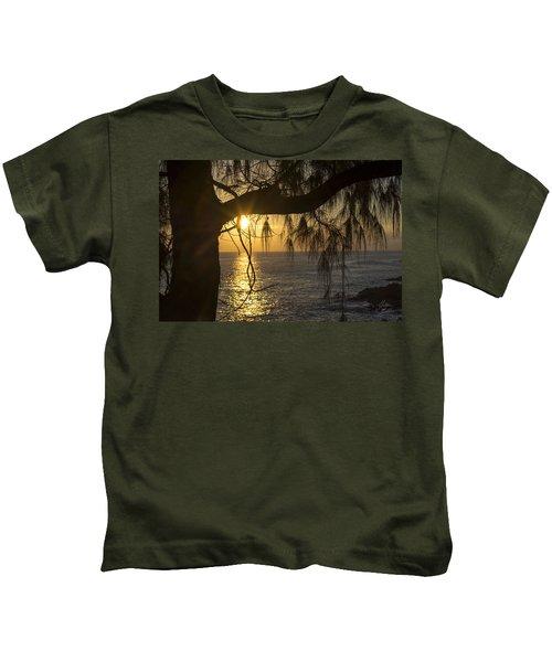 Kauai Sunset 1 Kids T-Shirt