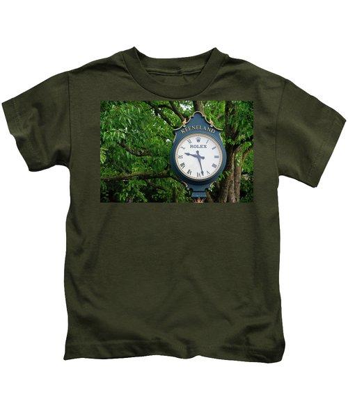 Keeneland Clock Kids T-Shirt