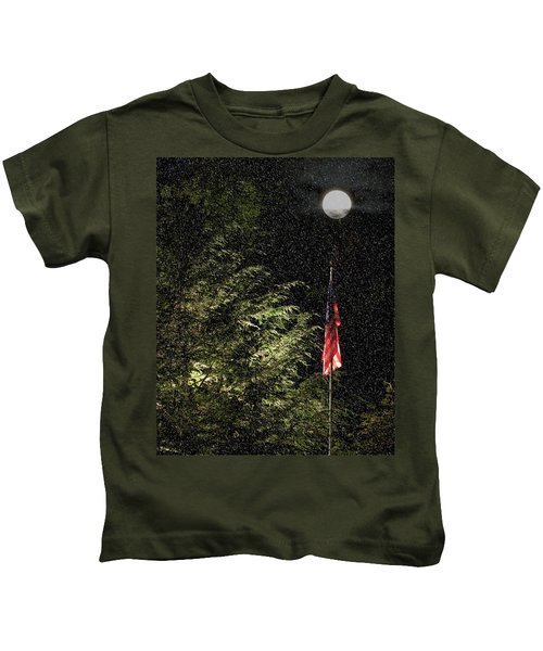Keeping America  Illuminated.  Kids T-Shirt