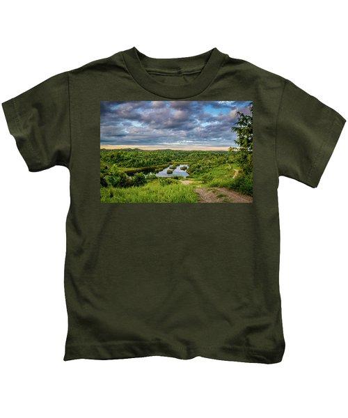 Kentucky Hills And Lake Kids T-Shirt