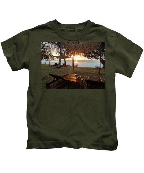 Kenyan African Beach Sunrise 2 Kids T-Shirt