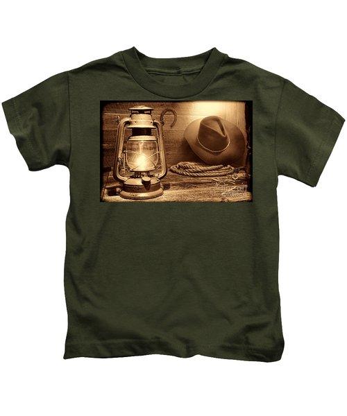 Kerosene Lantern Kids T-Shirt