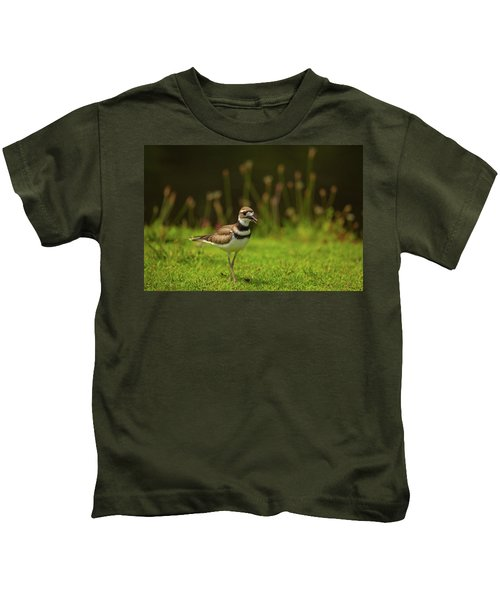 Killdeer Kids T-Shirt by Karol Livote