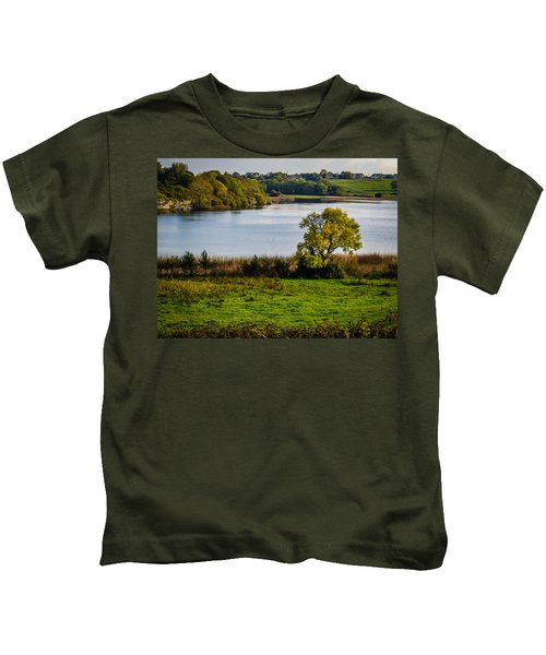 Killone Lake In County Clare, Ireland Kids T-Shirt