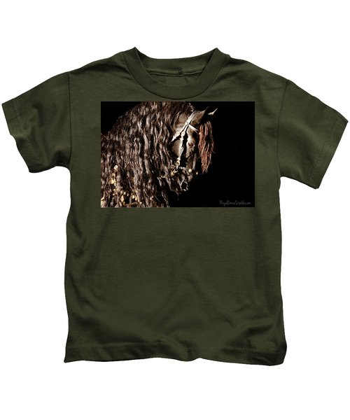 King Of Horses Kids T-Shirt