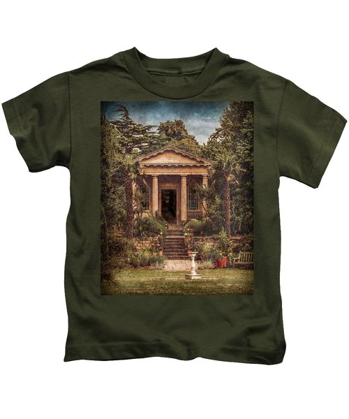 Kew Gardens, England - King William's Temple Kids T-Shirt