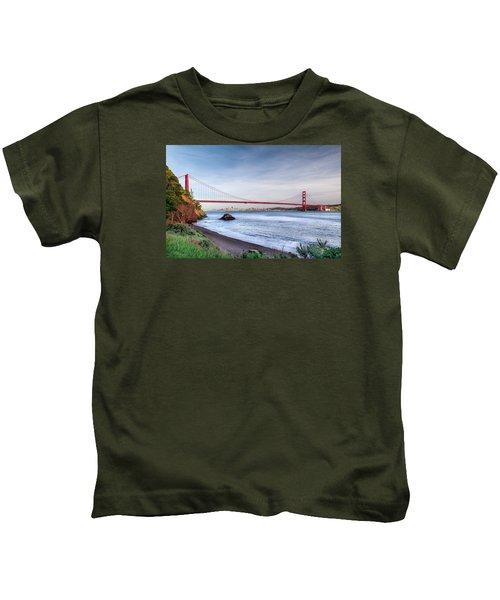 Kirby Cove Beach Kids T-Shirt